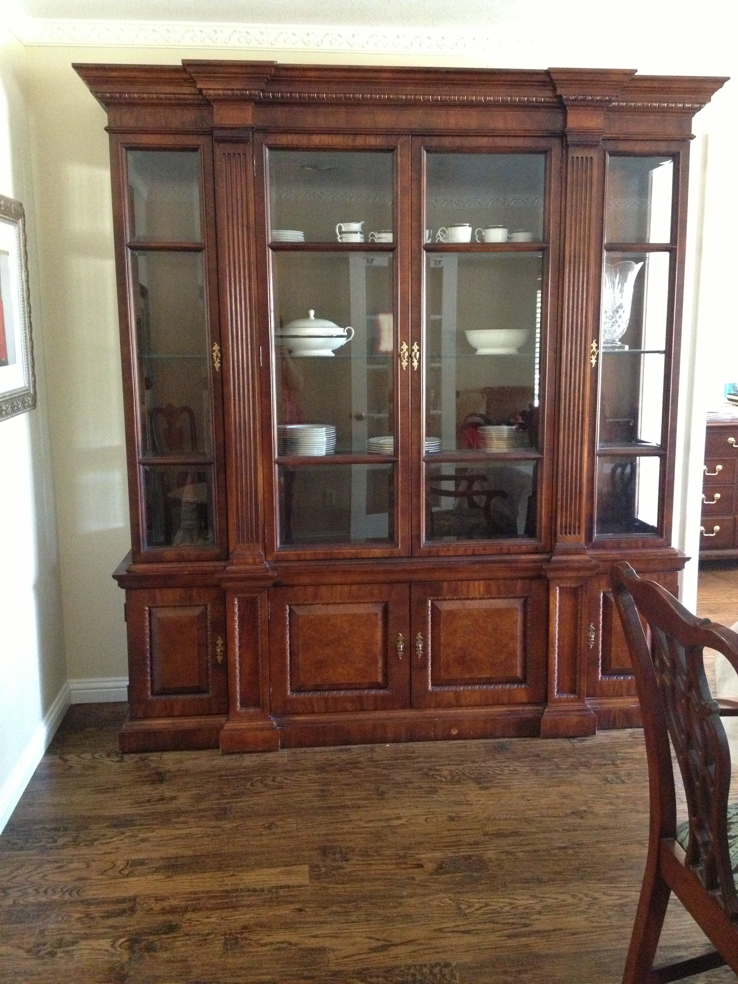 Dining Room Hutches Small Hutch Furniture Room Furniture: The Dining Room And Entry